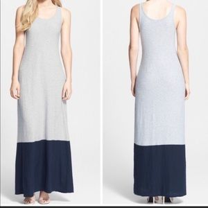 Vince Colorblock Maxi Dress